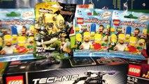Новые Обзоры Lego TMNT,Lego Technic,Lego Super Heroes IRon Man 3,Lego Simpsons Minifigures