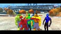 Spiderman Colors Hulk Colors Nursery Rhymes & Disney Pixar Cars Lightning McQueen Colors
