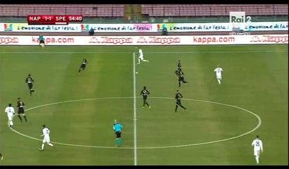 Emanuele Giaccherini Goal HD - Napoli 2-1 Spezia - 10.01.2017