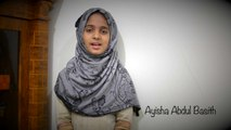 Allahi Allah Kiya Karo - Ayisha Abdul Basith (Maher Zain Version)