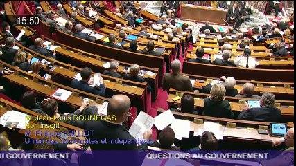 Jean-Louis Roumégas questionne Marisol Touraine sur la politique vaccinale en France