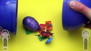 Disney Inside Out Surprise Egg Word Jumble! Spelling Creepy Crawlers! Lesson 13 Toys for Kids!--ohGXmL4kS0