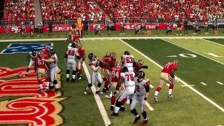 Simulación Monday Night Football - Madden NFL 25 - Falcons vs 49ers-6WOlCXTFnj8