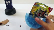 DOCTOR WHO! GIANT Doctor Who Play Doh Surprise Egg Opening! Surprise Doctor who toys and blind bag!