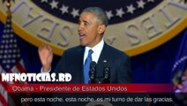 Last speech of Barack Obama as President of the United States/ultimo discurso de barack obama como presidente