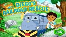 Go Diego Go! - Diegos Railroad Rescue - New Full Game English - Dora Friends HD