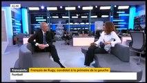 """Lapsus d'une journaliste de France Info qui parle de la """"tombe de François Hollande"""""""