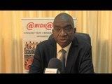 Dr Pokou Koffi, SG du BNPVS, présente les objectifs de la Veille Stratégique