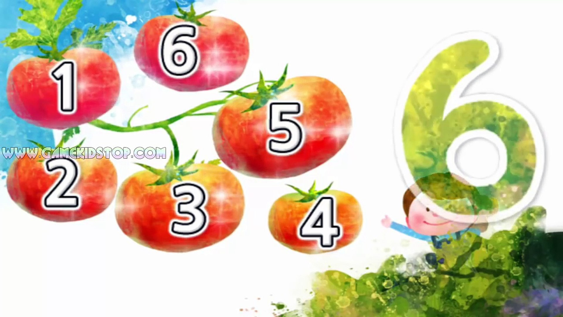 Learn counting Number 1 to 10 games for kids android app - App free Education for Kids