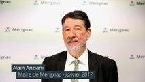 Les voeux 2017 d'Alain Anziani, Maire de Mérignac