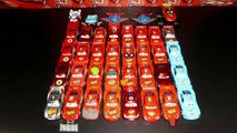 Disney Pixar Cars 37 Various Lightning McQueen from Cars, Cars2 and Cars Toon 1:55 Mattel