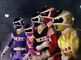 Power Rangers in Space - Power Rangers vs Psycho Rangers First Fight (Rangers Gone Psycho)-wVXgvKAMNJE