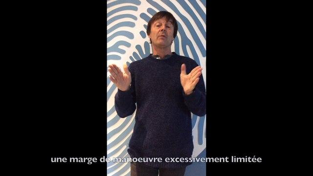 Nicolas Hulot dénonce l'évasion fiscale