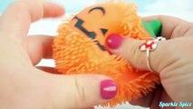 CUTTING OPEN Frozen ELSA Squishy Mesh BALL RAT! Halloween Squishy Gross Pumpkin Splat Fun!