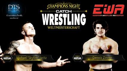 "Catch Wrestling: Michael ""Skyfire"" Jaritz vs. Dennis Zinner"