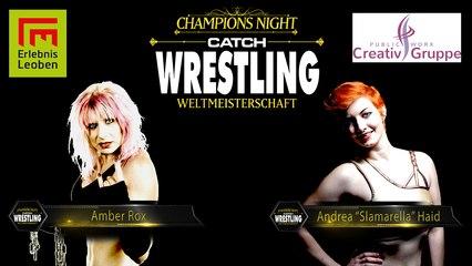 """Catch Wrestling: Amber Rox vs. Andrea """"Slamarella"""" Haid"""