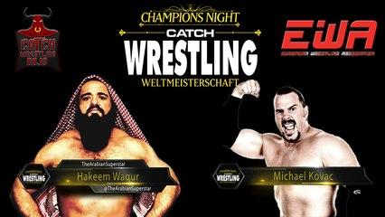Catch Wrestling: Hakeem Waqur vs. Michael Kovac