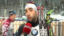 Biathlon - CM - Ruhpolding : M. Fourcade «Simon devait tenter le coup»