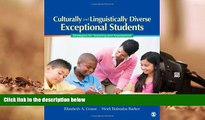 Kindle eBooks  Culturally and Linguistically Diverse Exceptional Students: Strategies for Teaching