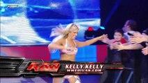Kelly Kelly and Melina vs. Jillian Hall and Beth Phoenix (w/ Santino Marella)