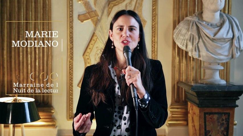 Marie Modiano, marraine de la Nuit de la lecture 2017