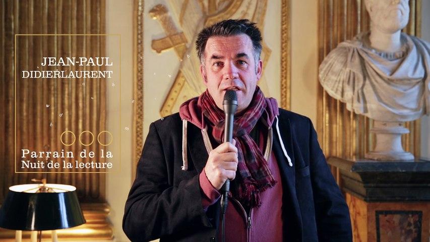 Jean-Paul Didierlaurent, parrain de la Nuit de la lecture 2017