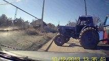 Видео приколы на дороге. Смотреть видео прикол на дороге в глубинке России