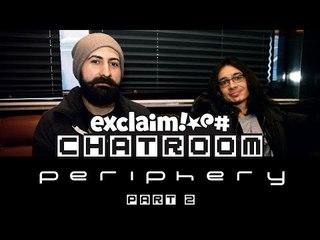 Periphery talk 'Juggernaut' on Exclaim! TV Chatroom (Part 2)