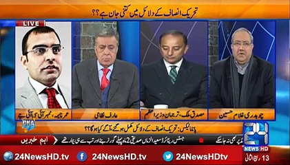 What is the reality of Maryam Nawaz in Panama case ask Ch Ghulam Hussain from Umar Cheema ISIJ Submitted
