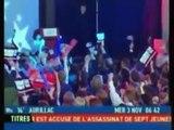 Laurence Haïm perd ses moyens après la réélection de George W. Bush