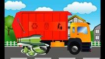 Garbage Truck Videos - Garbage Trucks For Kids - Monster Trucks For Kids Videos-