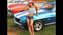 Hot Chevy Camaro And Hot Bikini Girls- Hot Rod Girls In Bikinis