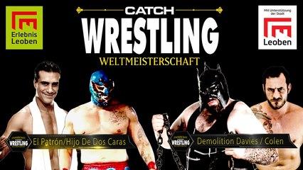 Catch Wrestling: Chris Colen & Demolition Davies vs. Hijo de Dos Caras & Alberto El Patrón