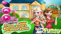Permainan Frozen Sisters Barbecue Party- Play Elsa Games