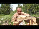 Norwegian Craftsmen Reenact Woodworking 'The Viking Way'