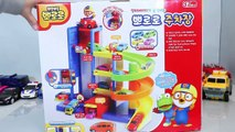 Parking Garage Car Toy - Tayo the Little Bus Parking Garage Cars With Pororo Toys