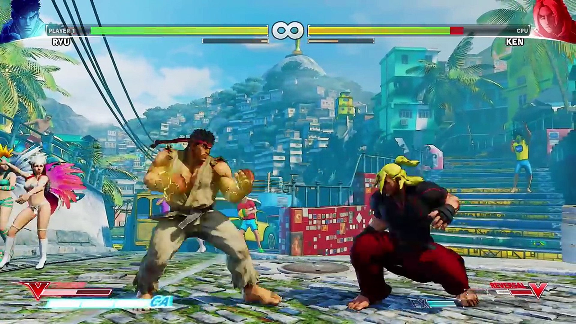 Street Fighter V Gameplay Walkthrough Part 1 Ryu Ken Story Mode Video Dailymotion