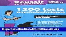 Télécharger Epub Réussir son concours Paramédical - 1200 tests psychotechniques Audiobook