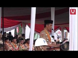 Sambutan Presiden Jokowi Pada Pembukaan Jambore Nasional X 2016