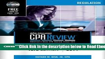 Read Bisk CPA Review: Regulation, 43rd Edition, 2014 (Comprehensive CPA Exam Review Regulation)