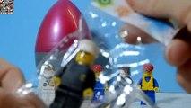 Lego Surprise Eggs Unboxing Lego Figures Very cool Lego Kinder Surprises