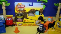 Pave the Streets With Diggin Rigs Play Doh Roller Toy Review