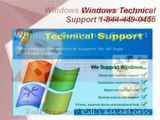 Windows Technical Support Phone Number###1-844-449-0455$$Windows Customer care Service Number.