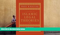 PDF [DOWNLOAD] A History of Islamic Legal Theories: An Introduction to Sunni Usul al-fiqh FOR IPAD