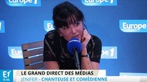 """""""Star Academy"""", Les Enfoirés, le cinéma : Jenifer se confie au micro d'Europe 1"""