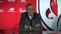 Revivez le passage de témoin entre Michel Seydoux et Gérard Lopez