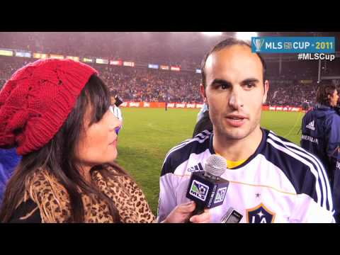 MLS Cup Post-Game: Landon Donovan 1-on-1