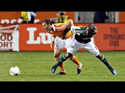 HIGHLIGHTS: Houston Dynamo vs Portland Timbers, MLS May 15th, 2012