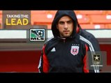 """Dwayne De Rosario of D.C. United in """"Taking the Lead"""" pres. by U.S. Army"""