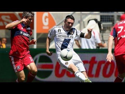 HIGHLIGHTS: Chicago Fire vs LA Galaxy, MLS July 8th 2012